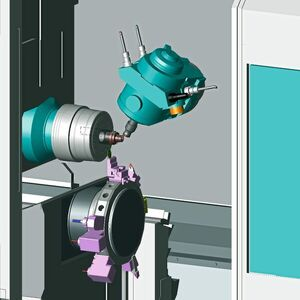 Simulation of Machining Processes with Virtual CNC