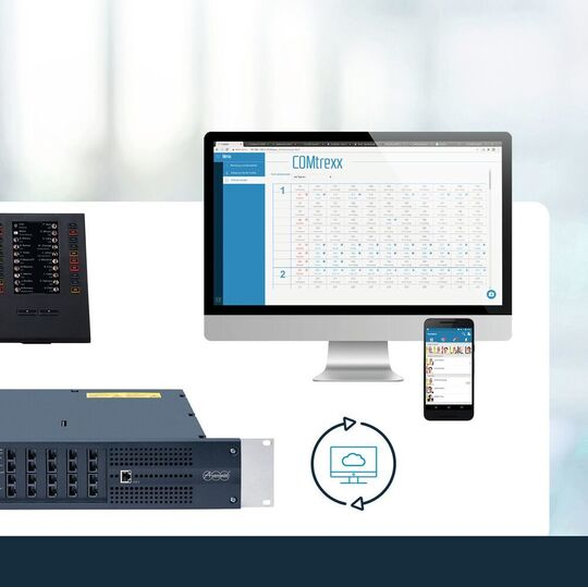 With the SIP-based Comtrexx solution of the ICT-specialist auerswald now offers a modular 360°Portfolio for the modern business communication.