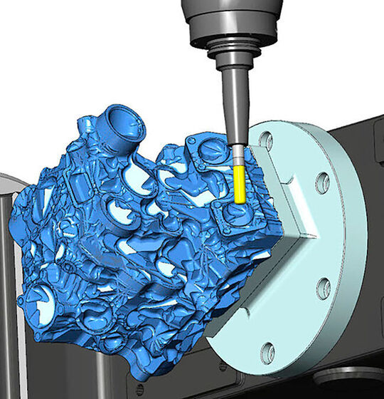 Multiaxis machining requires spatial awareness of and full control over a variety of moving parts.