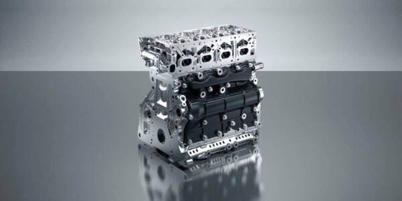The 3D-printed engine saves weight and is more efficient.