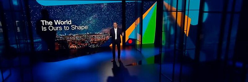Chuck Robbins, Chairman and CEO of Cisco, gave the opening speech by the global digital Cisco Live 2021.