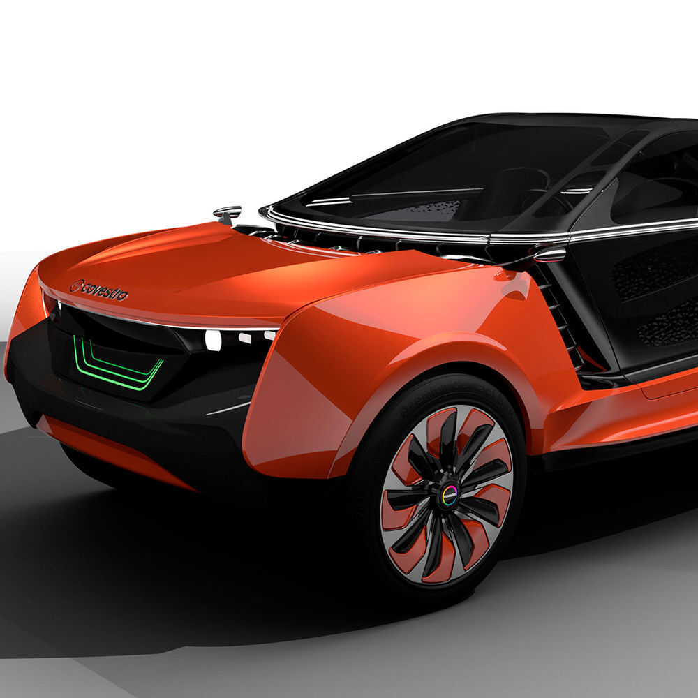 Designing The Electric Car Of The Future